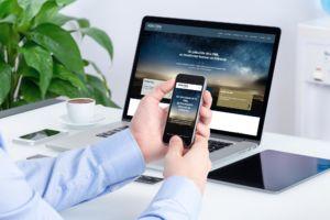 Site web responsive Adaxtra